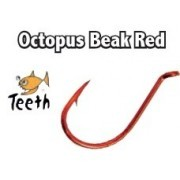 Anzuelos Rojos Octopus Beak Red Teeth