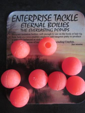 Cebos Artificiales Enterprise Tackle Eternal Boilies Pop Ups (rojos)