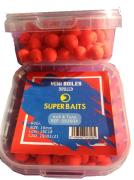 Mini Boilies Agujereados 10mm Krill Tuna Superbaits