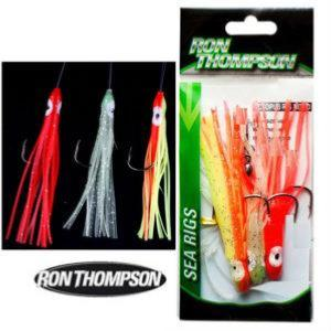 2 PACKS de Sabikis Señuelos Pulpos Ron Thompson Octopus Rig Mixed