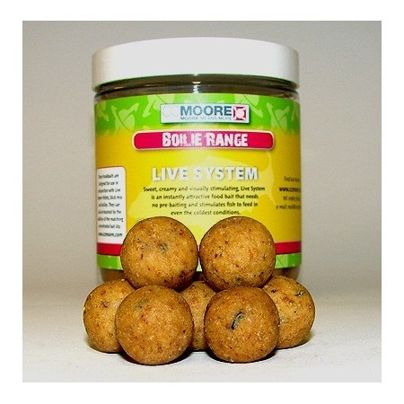 Boilies CC Moore Live System Hard Hookbaits