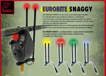 Snag Bar Avisador Picada Carpfishing Eurobite Snaggy
