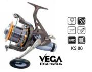 Carrete de Pesca Carpfishing Vega KS 80 (7rod)