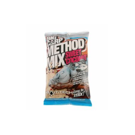 Engodo Pesca Bait-Tech Pro Big Carp Method Mix Sweet Coconut 2kg