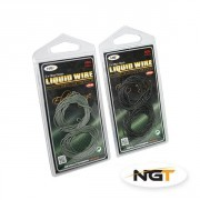 Bajo Trenzado Carpfishing NGT Looped Liquid Wire 40Lb