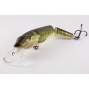 Señuelos Salmo Pike Lucio Real Jointed DR 11cm Floating