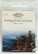 Emerillones Rolling Swivel with Snap Fladen