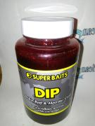 Atrayente Liquido Dip Remojo Super Baits 200ml Robin Red & Monster Crab