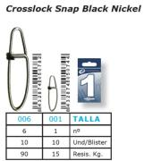 Emerillones Esquena Crosslock Snap