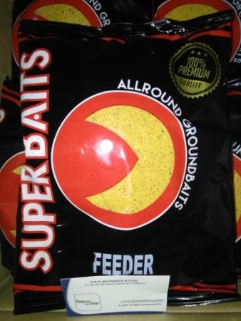 Engodos de Pesca  Superbaits Feeder Amarillo 1kg