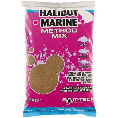 Bait-Tech Engodo Halibut Marine Method Mix 2kg
