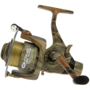 Carrete Pesca Carpfishing NGT Camo 60 + Sedal (3 rod)