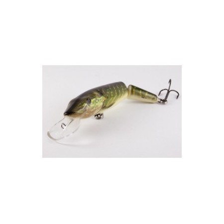 Señuelos Salmo Pike Lucio Real Jointed DR 13cm Floating