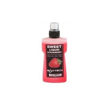 Bait-Tech Liquid Strawberry (Atrayente Fresa)