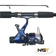 Combo Caña Spinning 2.10m + Carrete + Sedal NGT