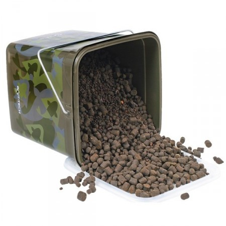 Cubo Camuflaje Pellets Bait-Tech Camo Bucket Time Bomb Pellets 3kg